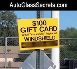 Auto Glass Frauds & Scams